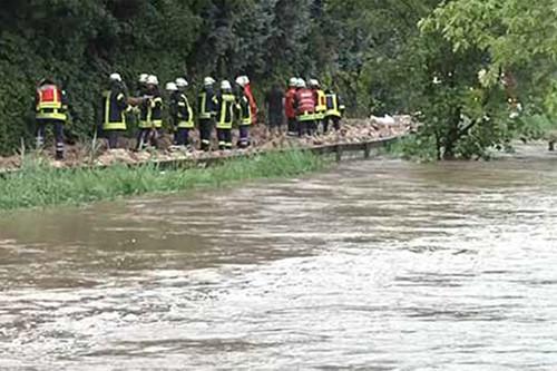 Hochwasserhilfe Hildesheim 2017